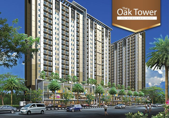 kalindo land - The Oak Tower Apartment
